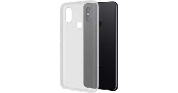 Azuri Glossy TPU Xiaomi Mi 8 Back Cover Transparent
