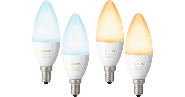 Philips Hue White Ambiance E14 2x Duo Pack