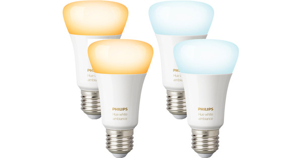 Philips Hue White Ambiance E27 2x Duo Pack