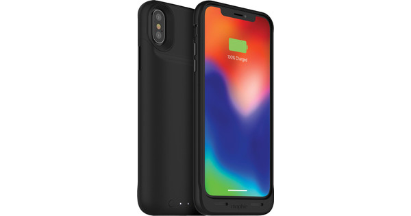 Mophie Juice Pack Air iPhone X Back Cover Black