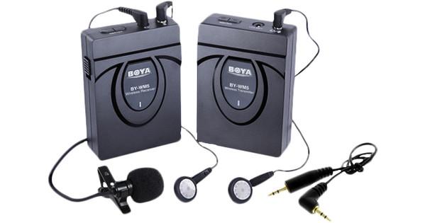 Boya BY-WM5 Lavalier Wireless Microphone