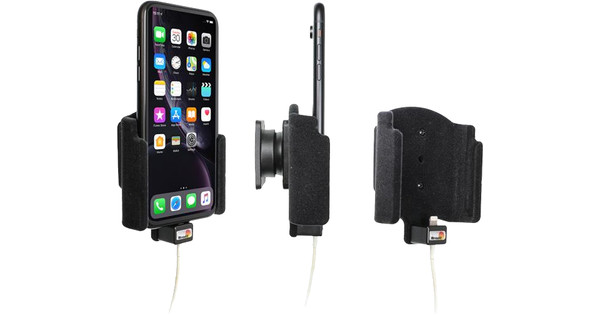 Brodit Padded Apple iPhone Xr / iPhone 11 Car Holder without Usb Cable