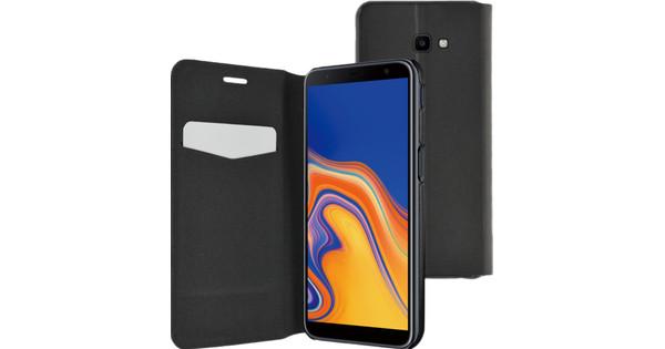 Azuri Ultra Thin Samsung Galaxy J4 Plus Book Case Black