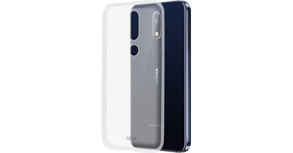 Azuri Glossy TPU Nokia 7.1 Back Cover Transparant