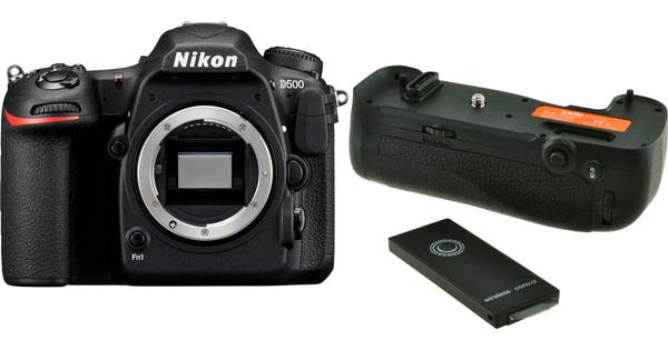 Nikon D500 Body + Jupio Battery Grip JBG-N014