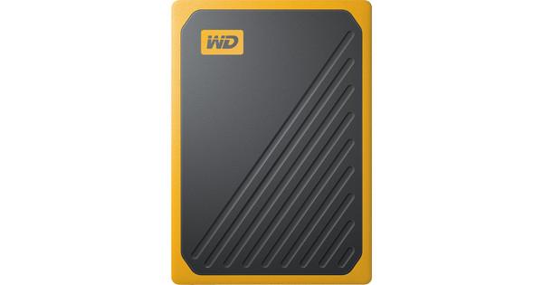 WD My Passport Go 500GB Black/Yellow