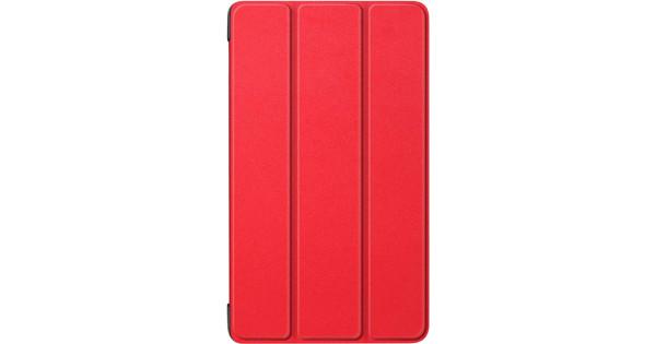 Just in Case Smart Tri-Fold Lenovo Tab E7 Book Case Rood