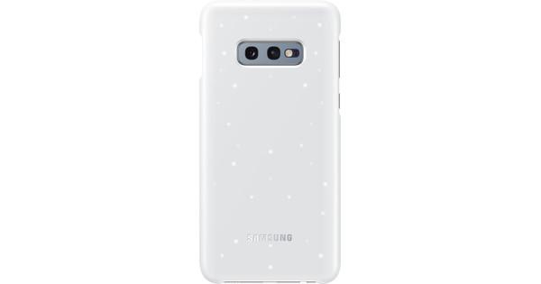 Samsung Galaxy S10e Led Cover Back Cover White