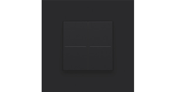 Niko Hue Pure black dimmer switch