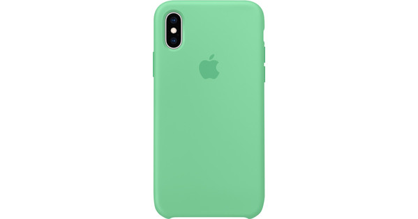 Apple iPhone Xs Silicone Case Mint