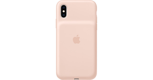 Apple iPhone Xs Max Smart Battery Case Rose Quartz