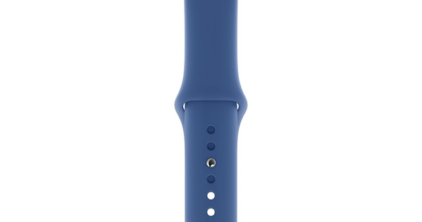 Apple Watch 40mm Silicone Watchband Sport Delft Blue