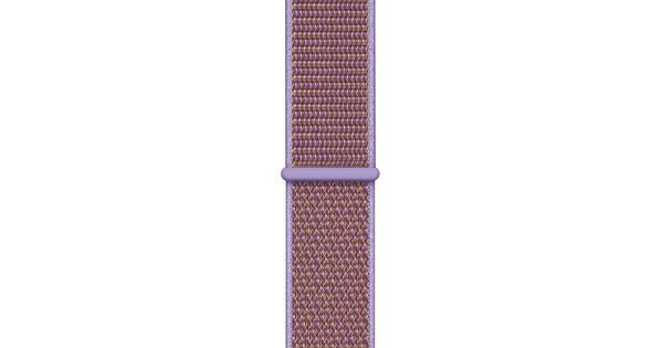 Apple Watch 44mm Nylon Sport Loop Watch Strap Lilac