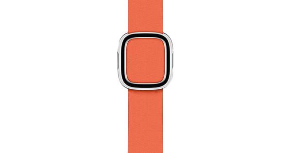 Apple Watch 38/40mm Modern Leather Watch Strap Sunset - Medium