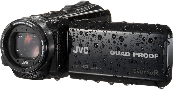 JVC GZ-R441BEU Black