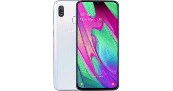 Samsung Galaxy A40 64GB Wit