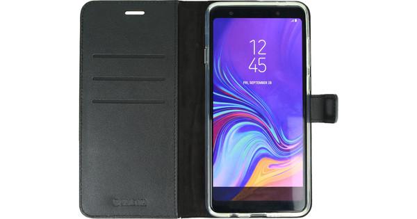 Valenta Booklet Gel Skin Samsung Galaxy A7 (2018) Book Case Zwart