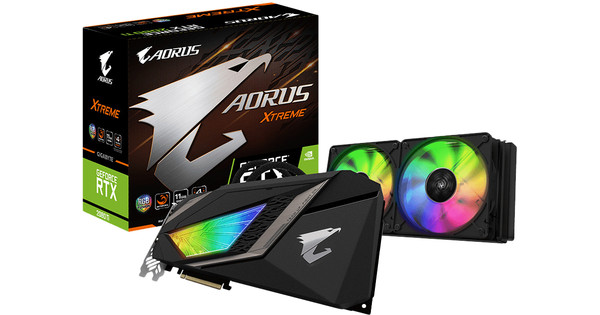 Gigabyte GeForce AORUS RTX 2080 Ti XTREME WATERFORCE 11G
