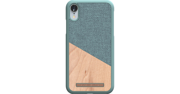Nordic Elements Frejr Apple iPhone Xr Back Cover Green / Wood