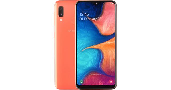 Samsung Galaxy A20e Oranje