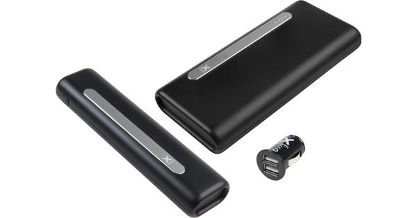 Oplaadpakket Xtorm: Powerbank 10.000 mAh + Powerbank 20.000 mAh + XPD04 Autolader
