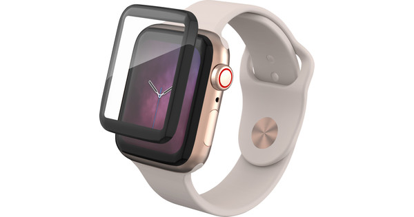 InvisibleShield Curve Elite Apple Watch Series 4 40mm Tempered Glass Screen Protector