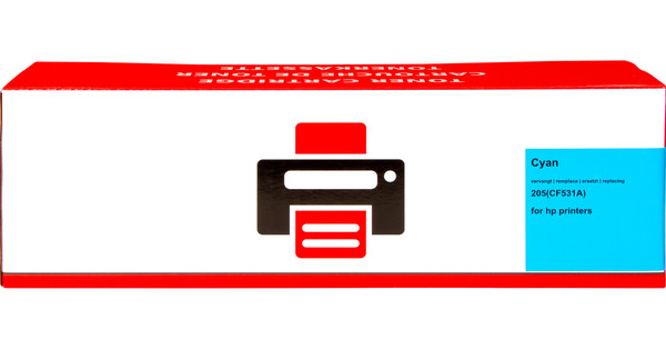 Pixeljet 205A Toner Cartridge Cyan