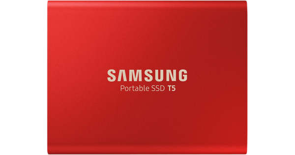 Samsung Portable SSD T5 1TB Rood