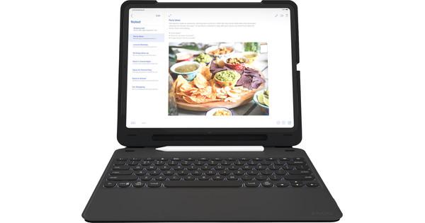 ZAGG Slim Book Go Apple iPad Pro 12.9 inch (2018) Keyboard Cover QWERTY Black