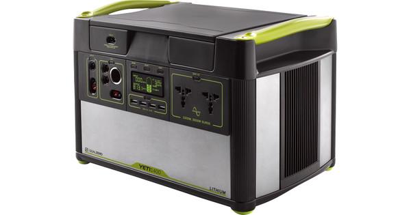 Goal Zero Yeti 1400 Generator 1425Wh/132,000mAh