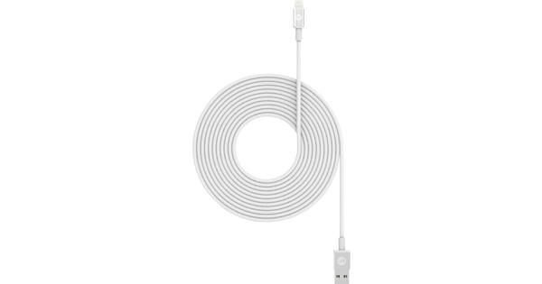 Mophie Usb A naar Lightning Kabel 3m Wit