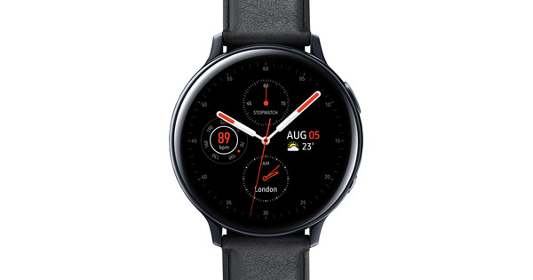 Samsung Galaxy Watch Active2 Black 44mm Stainless Steel