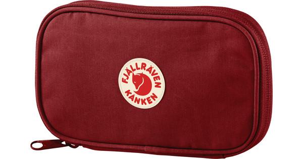 Fjallraven Kånken Travel Wallet Ox Red