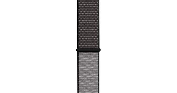 Apple Watch 38/40mm Nylon Sport Loop Watch Strap Anchor Gray