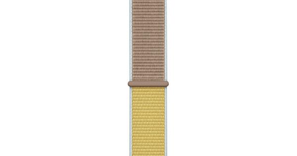Apple Watch 40mm Nylon Sport Loop Watch Strap Camel