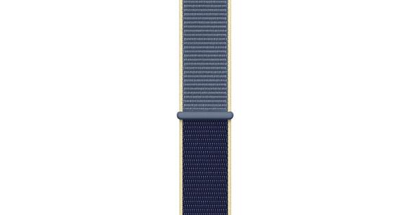 Apple Watch 40mm Nylon Sport Loop Watch Strap Alaskan Blue