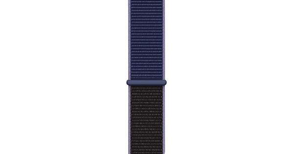 Apple Watch 38/40mm Nylon Sport Loop Watch Strap Midnight Blue