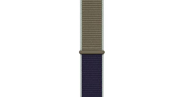Apple Watch 42/44 mm Nylon Sport Loop Horlogeband Khaki