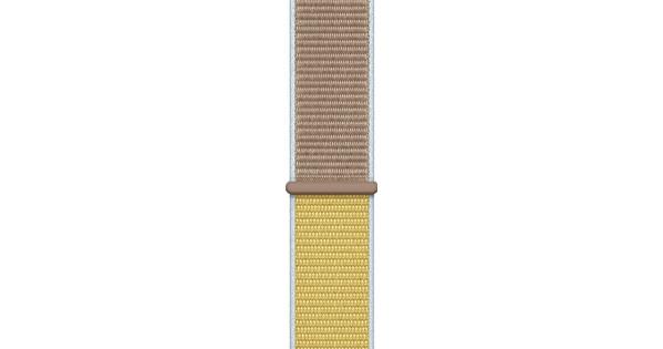 Apple Watch 42/44mm Nylon Sport Loop Watch Strap Camel