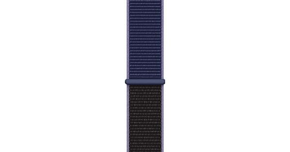 Apple Watch 44mm Nylon Sport Loop Watch Strap Midnight Blue