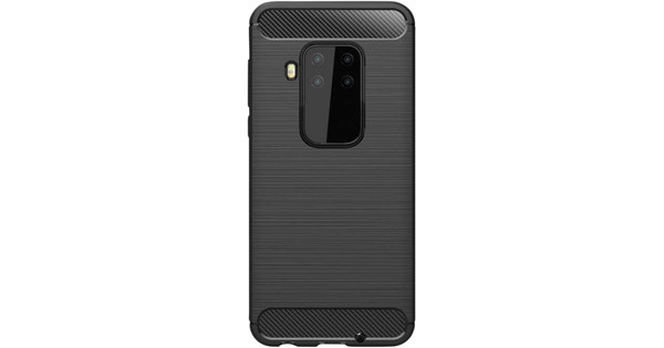Just in Case Rugged TPU Motorola One Zoom Back Cover Zwart