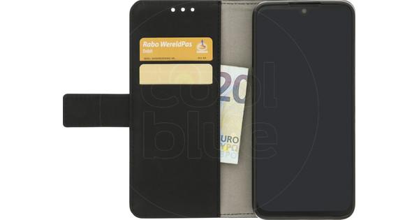 Just in Case Wallet Motorola One Zoom Book Case Zwart