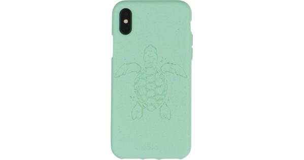 Pela Eco Friendly iPhone X/Xs Back Cover Blue (Turtle Edition)