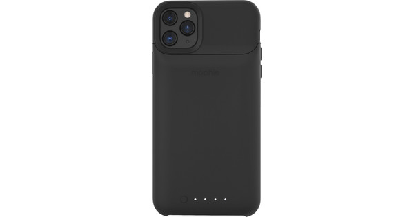 Mophie Juice Pack Access Apple iPhone 11 Pro Max Back Cover Zwart