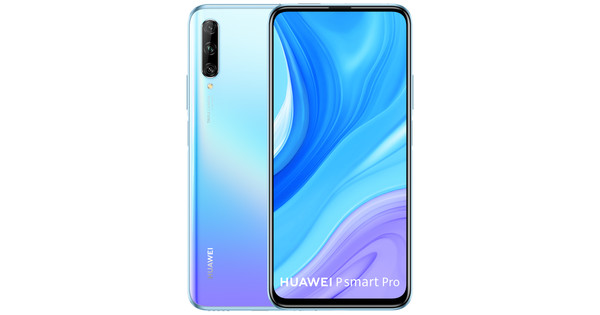 Huawei P Smart Pro 128GB Wit/Paars