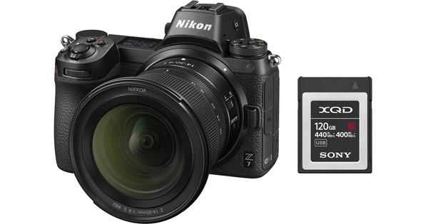 Nikon Z6 + Nikkor Z 14-30mm f/4 S + 120 GB XQD Geheugenkaart