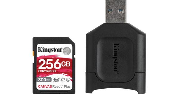 Kingston 256GB SDXC React Plus with Reader