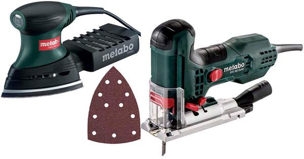 Metabo FMS 200 Intec + STE 100 Quick + Schuurpapierset