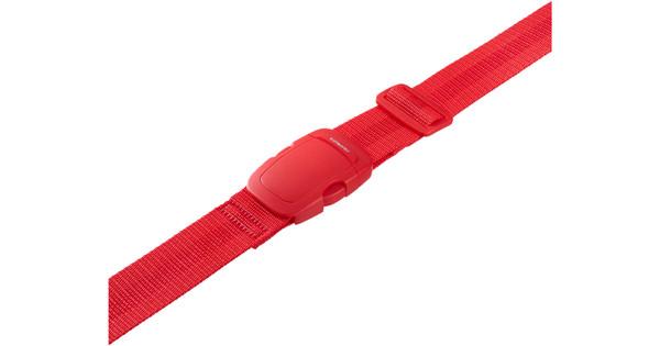 Samsonite Luggage Strap 3,8 cm Poppy Red
