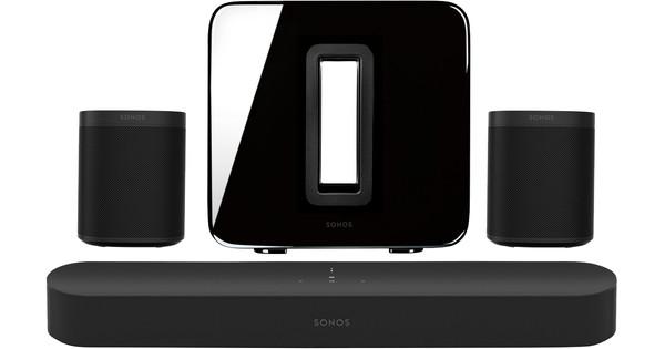 Sonos Beam 5.1 + One (x2) + Sub Black